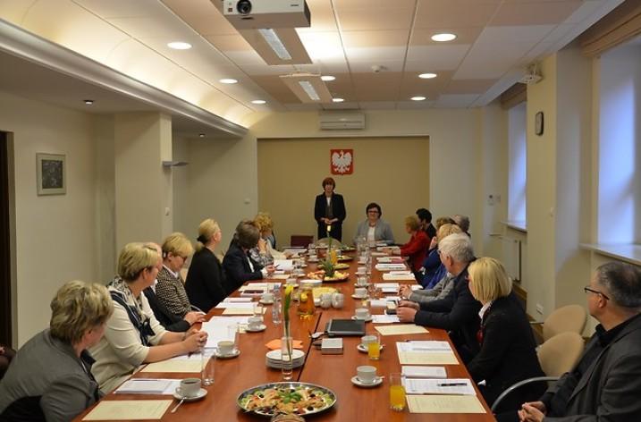 Krystyna Lasek w Radzie ds. Polityki Senioralnej