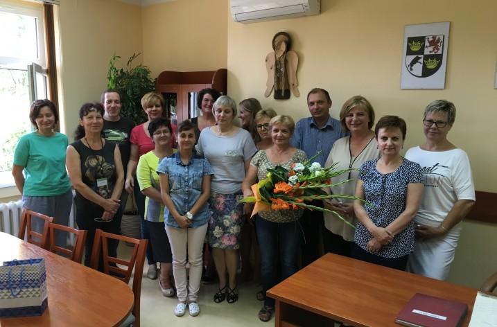 W czerwcu 2016 wieloletni pracownik MOPS w Świdnicy przeszedł na emeryturę