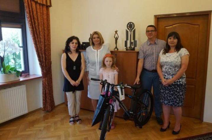 Cykliści wyjeździli już drugi rower dla świdnickiego dziecka
