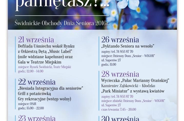 Dni Seniora 2016 w Świdnicy