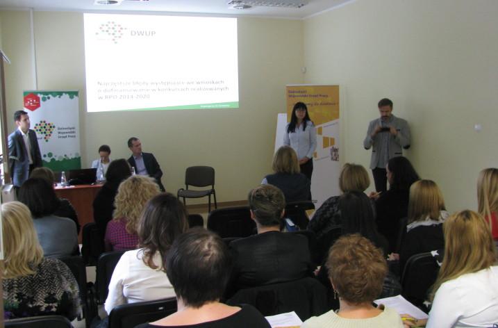 Spotkanie dot. projektów EFS