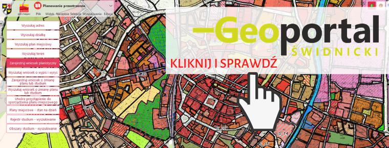 moduł planowanie przestrzenne - geoportal świdnicki