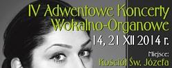 Adwentowe Koncerty Wokalno - Organowe w kościele św. Józefa w Świdnicy