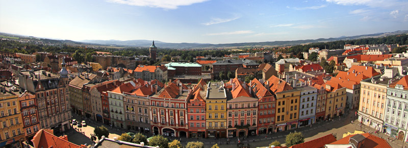 foto: panorama Świdnicy
