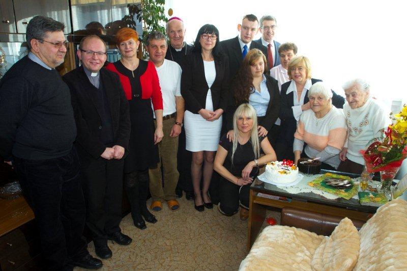 Stefania Natuniewicz świętowała 100 urodziny