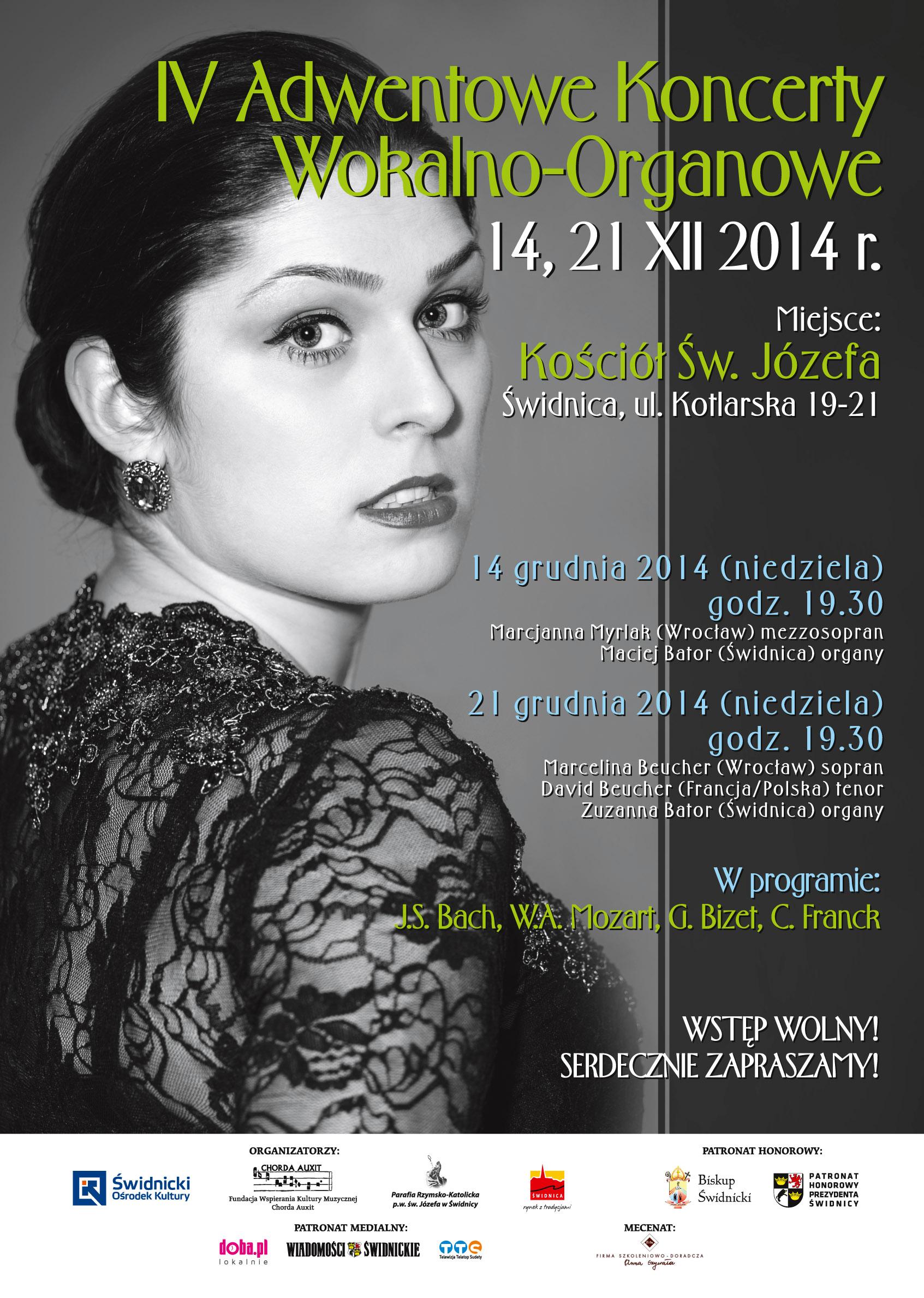 IV Adwentowe Koncerty Wokalno - Organowe